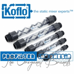 Koflo Clear PVC Static Mixer Indonesia  large