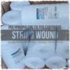 big blue string wound filter cartridge  medium