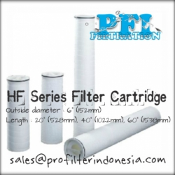d d HF Series Filter Cartridge OD 6 inch x 40 60 inch Indonesia  large